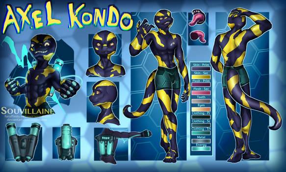Axel Kondo - Reference Sheet