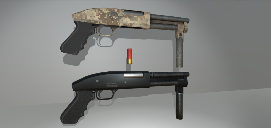 Super Shorty Shotgun by FishfaceGames