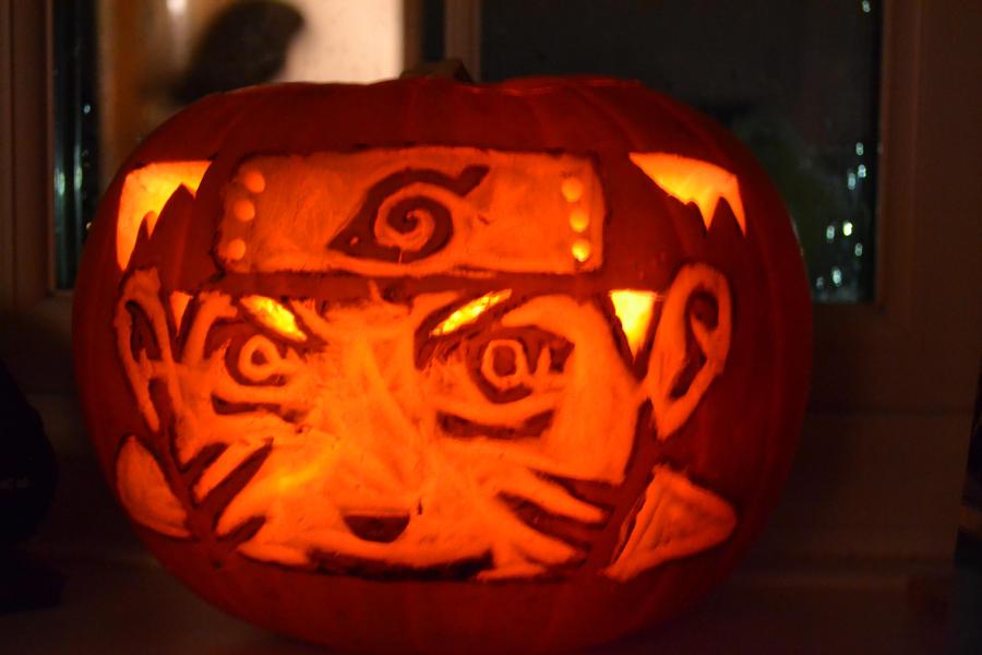 naruto - pumpkin by xXPoisenGardenXx