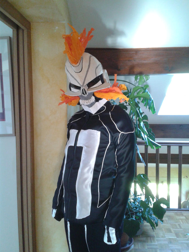 My All New Ghost Rider Cosplay 1 by CeramicHearted on DeviantArt