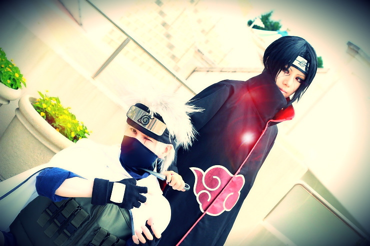 Kakashi vs Itachi by SanetomoIjuin