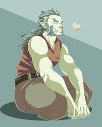Grumpy Dad by ToastSamurai