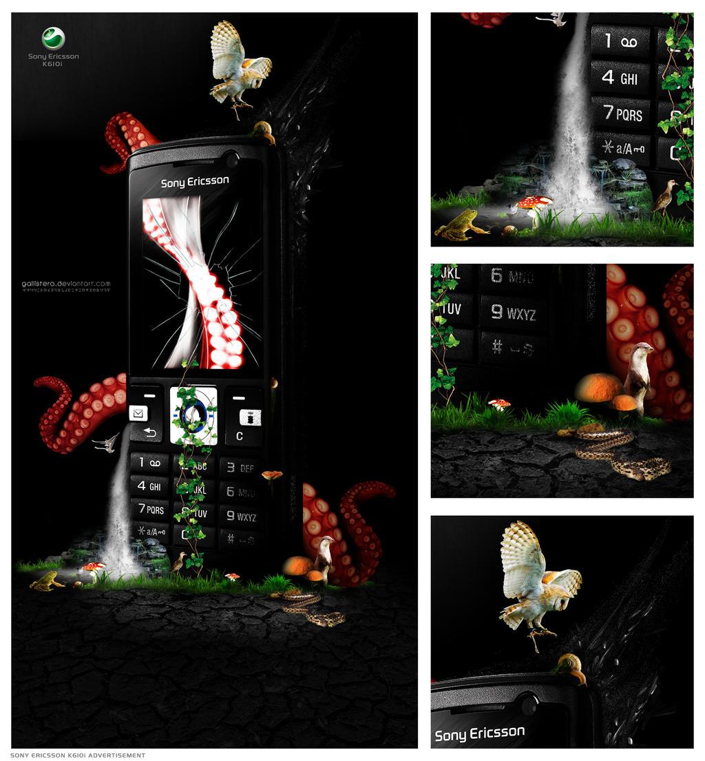 Sony Ericsson K610i Detailed by Gallistero