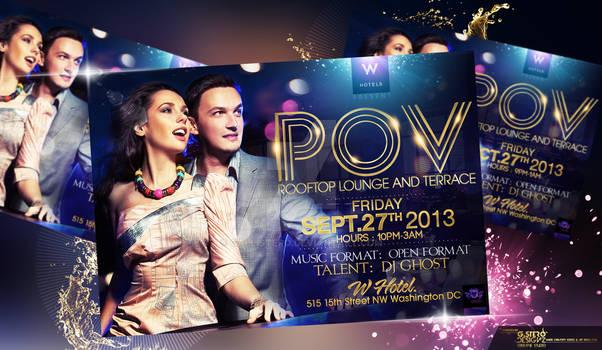 POV Party Flyer