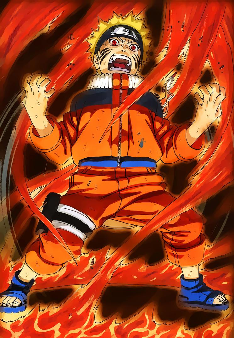 Naruto Fox Chakra HD by StiflerNeonizZ on DeviantArt  Naruto Fox Chak...