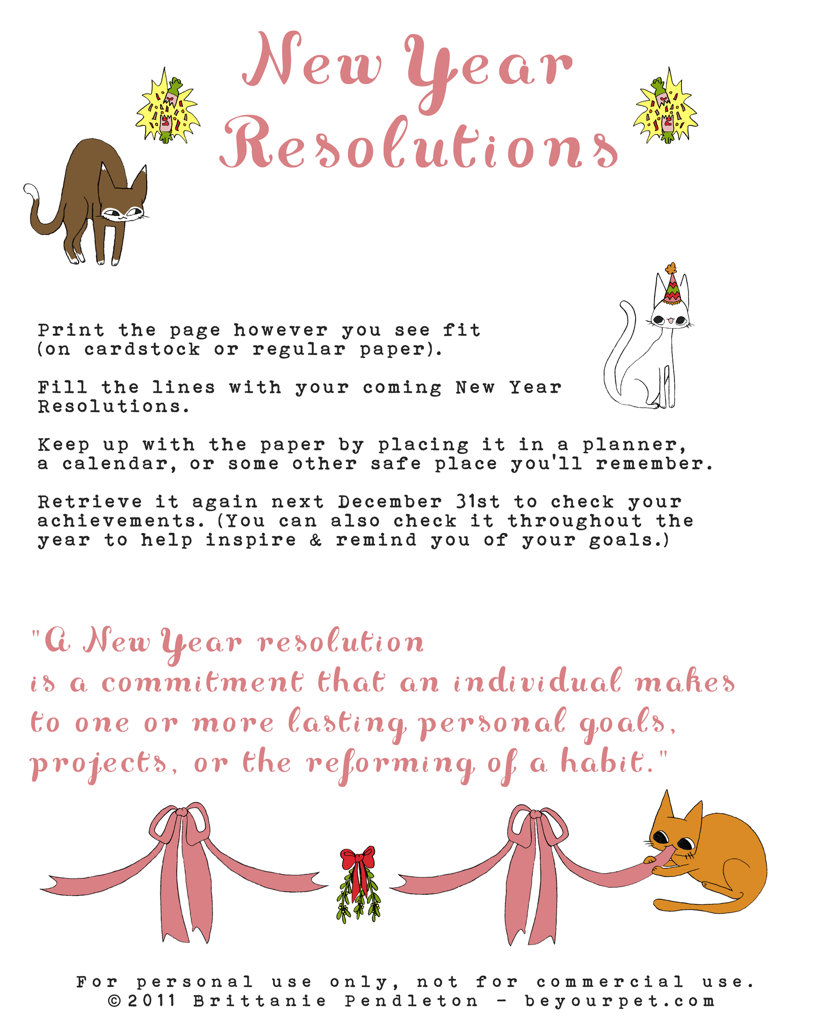 new year resolutions 2011 essay New year's eve is one of the largest global celebrations because it marks the last day many people start thinking about new year's resolutions at this time of.