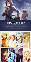 [Artbook] ROUTE INIFITY by Escente