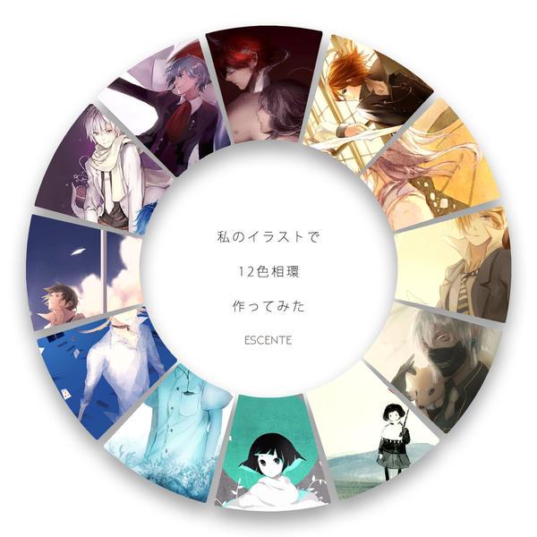 Colour Wheel by Escente