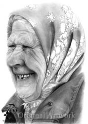 Elderly woman. by Cookai