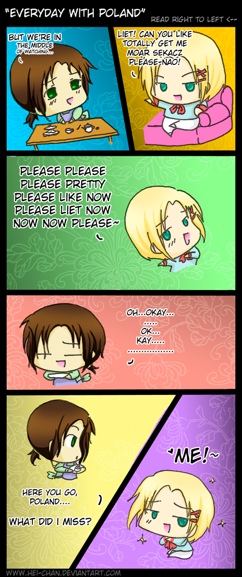 APH: Everyday With Poland by Hei-Chan