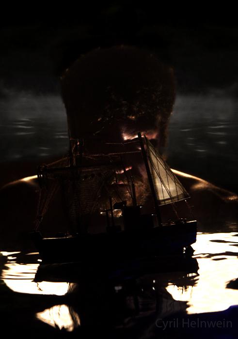 Neptune's Revenge by Cyril-Helnwein