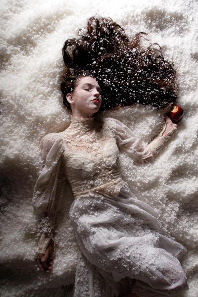 Snow White - outtake 2 by Cyril-Helnwein