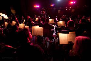 Ali Helnwein Rain Concerto 1 by Cyril-Helnwein