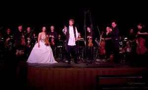 Ali Helnwein Rain Concerto 3 by Cyril-Helnwein