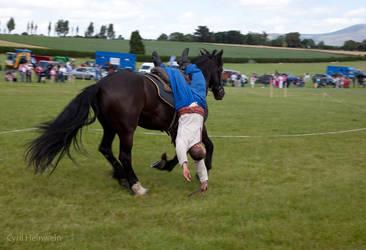 Cossack rider 3 by Cyril-Helnwein
