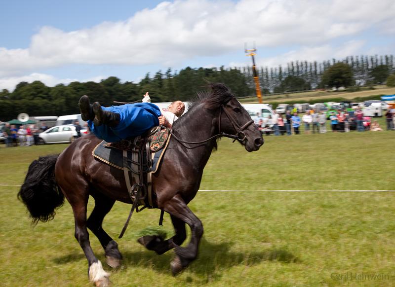 Cossack rider 6 by Cyril-Helnwein