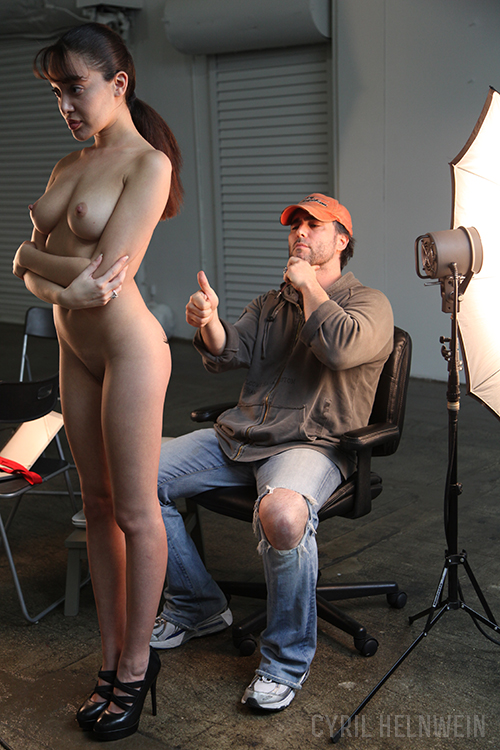 Behind the scenes: Booty Call by Cyril-Helnwein