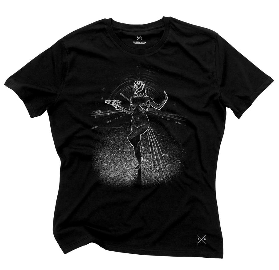 'Ray Gun Wrestler' t-shirt by Cyril-Helnwein