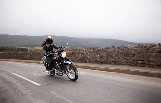 Kojii Helnwein Triumph Bonneville T100 SE