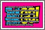 My Unpopular *TTG opinion stamp