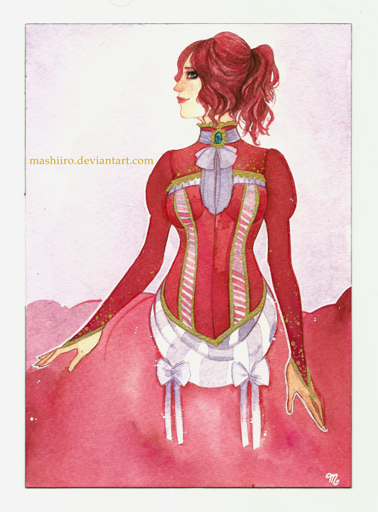 Prix : Persephone (Maguigrigri OC) by Mashiiro
