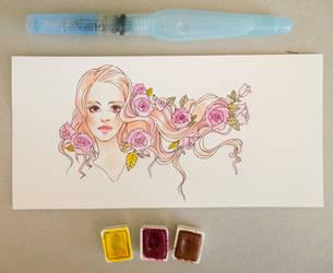 145 / 365 Roses by Mashiiro
