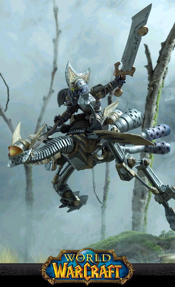 Warcraft gnome warrior 1 by BLACKPLAGUE1348