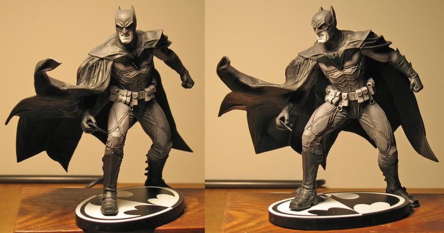 Bermejo Batman paint by BLACKPLAGUE1348