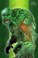 Swamp Thing by BLACKPLAGUE1348