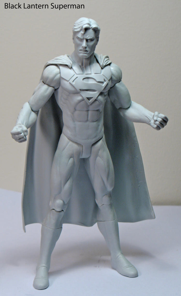 Black Lantern Superman by BLACKPLAGUE1348