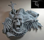 Death and the Fool wall plaque