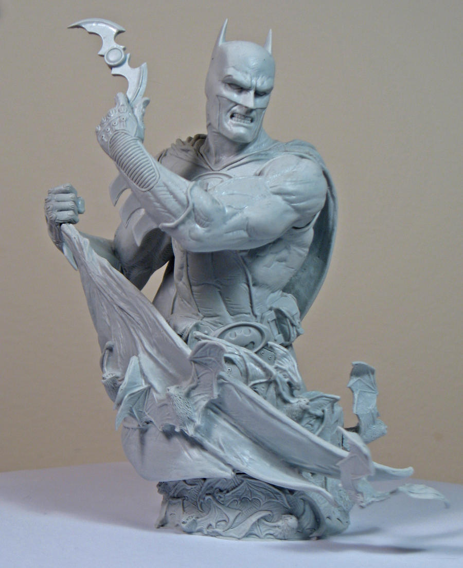 Heroes of the DCU: Batman 2 unpainted2 by BLACKPLAGUE1348
