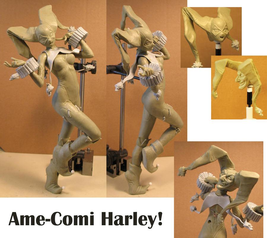 Harley Ame Clay! by BLACKPLAGUE1348