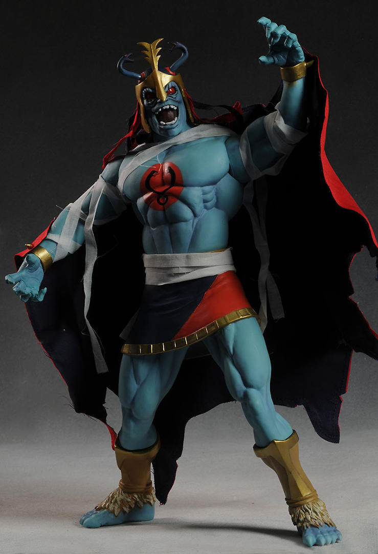 Mumm-Ra ! production by BLACKPLAGUE1348