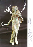Clive Barker  at 2001 Toy Fair