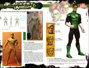 Making of Blackest Night Green Lantern article