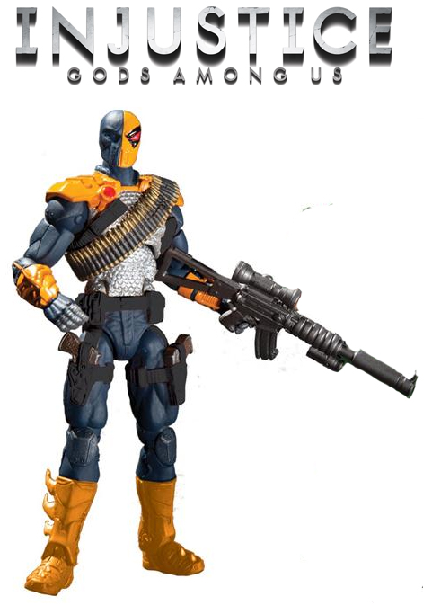 Injustice Deathstroke 4 inch figure by BLACKPLAGUE1348 on ...