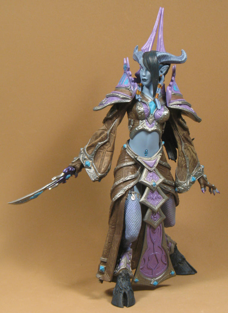 Draenei Mage3 by BLACKPLAGUE1348