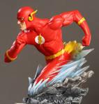 Barry Allen Flash paint1