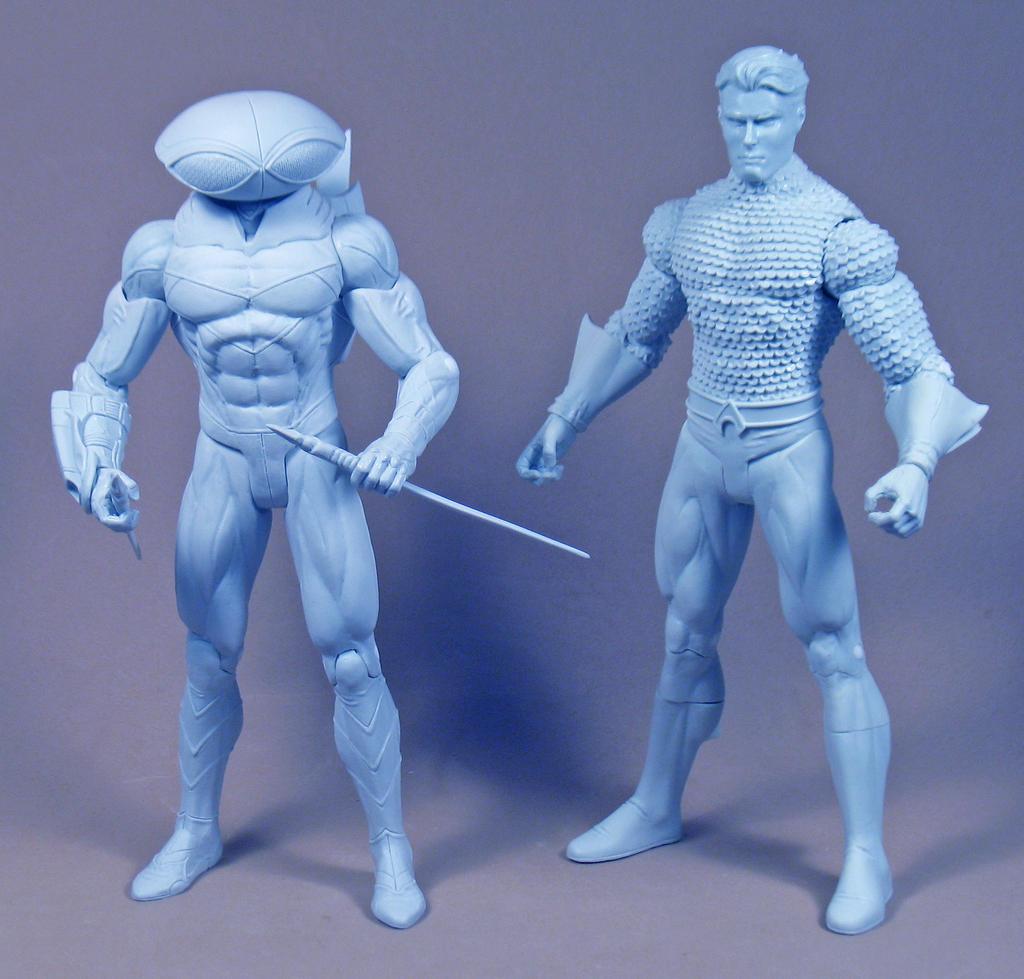 Manta vs. The king of Atlantis! by BLACKPLAGUE1348