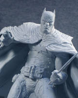 Batman B/W Rafael Grampa 1 by BLACKPLAGUE1348