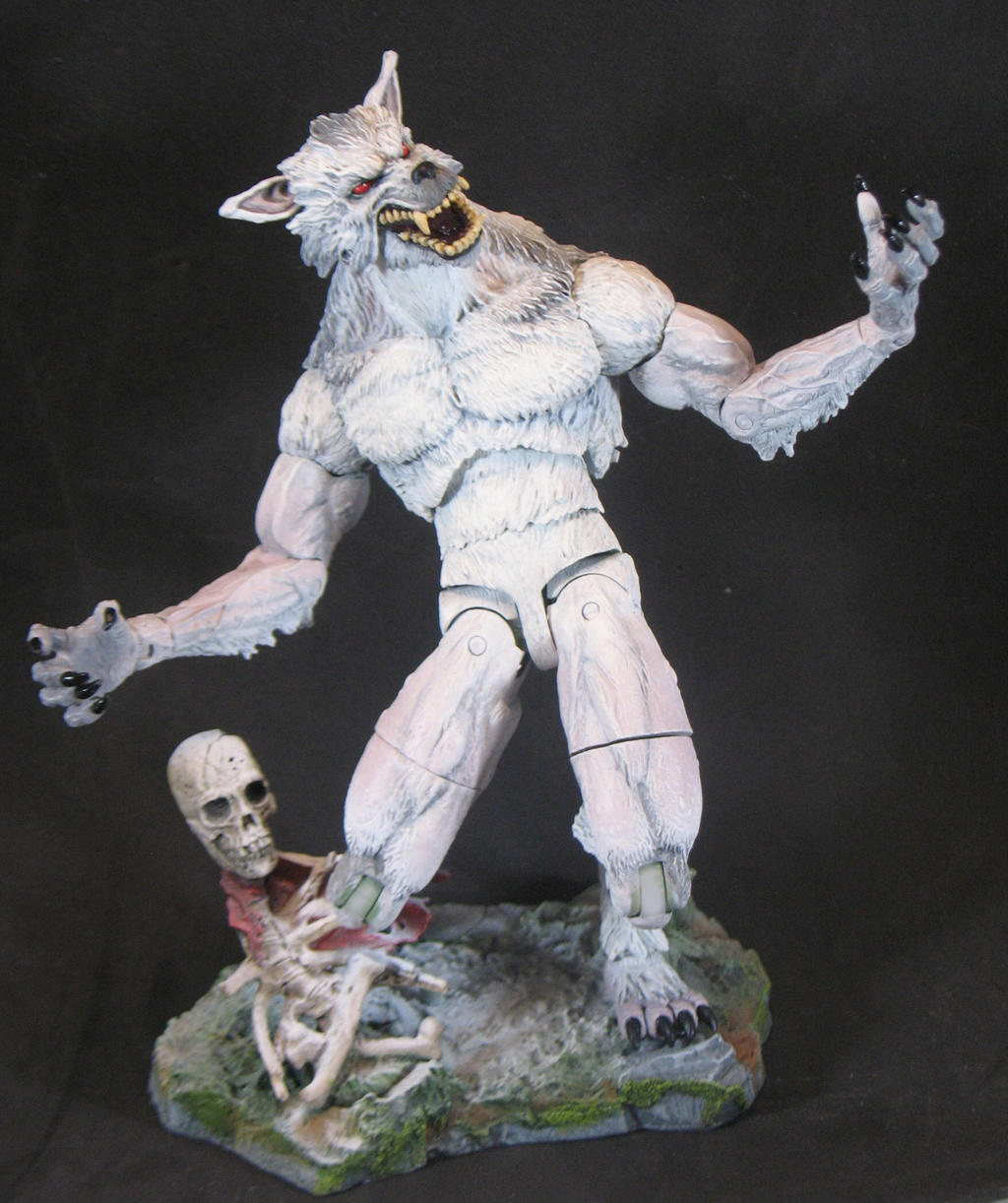 Ghost Wolf by BLACKPLAGUE1348