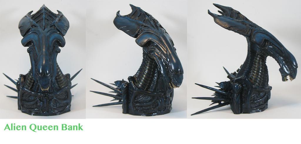 Queen alien paint master by BLACKPLAGUE1348