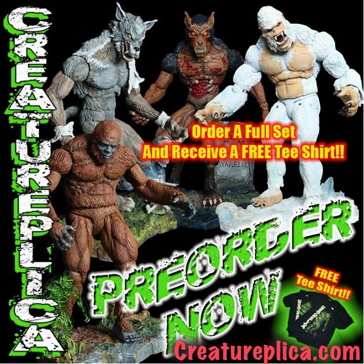 Creatureplica Pre-order by BLACKPLAGUE1348