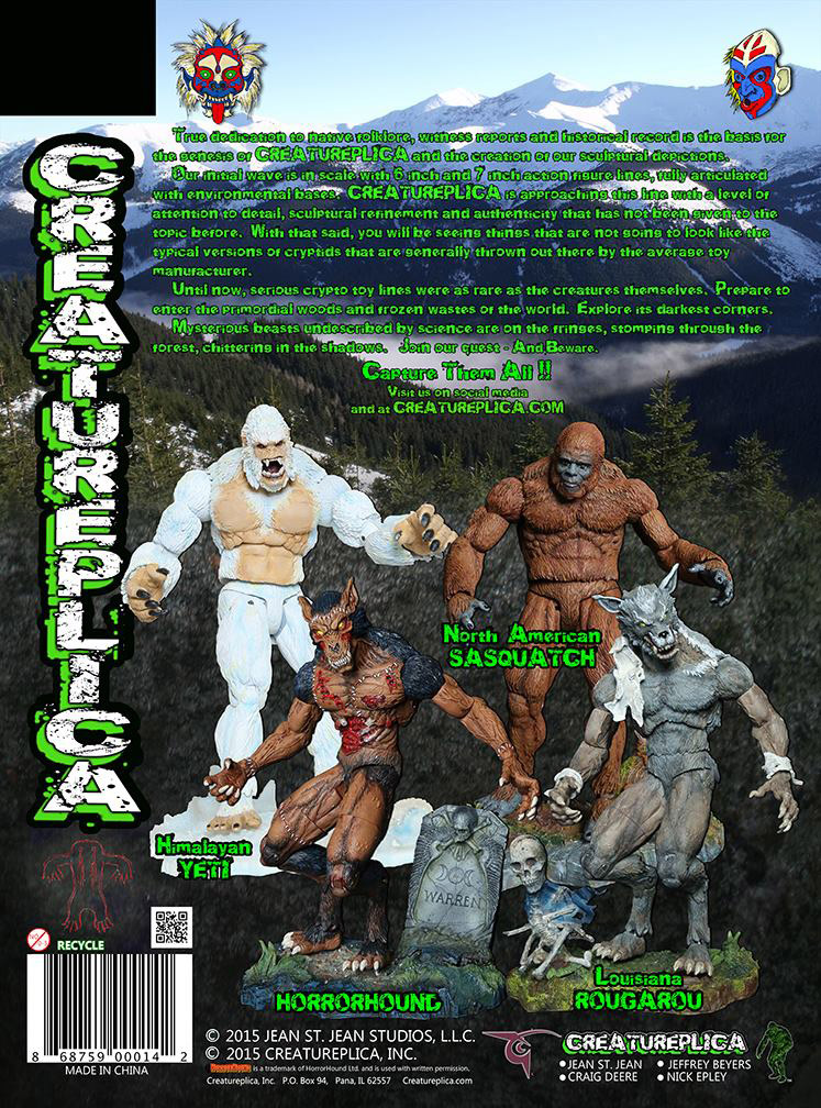 Creatureplica package back by BLACKPLAGUE1348