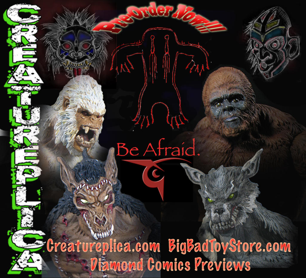 Creatureplica invasion! by BLACKPLAGUE1348
