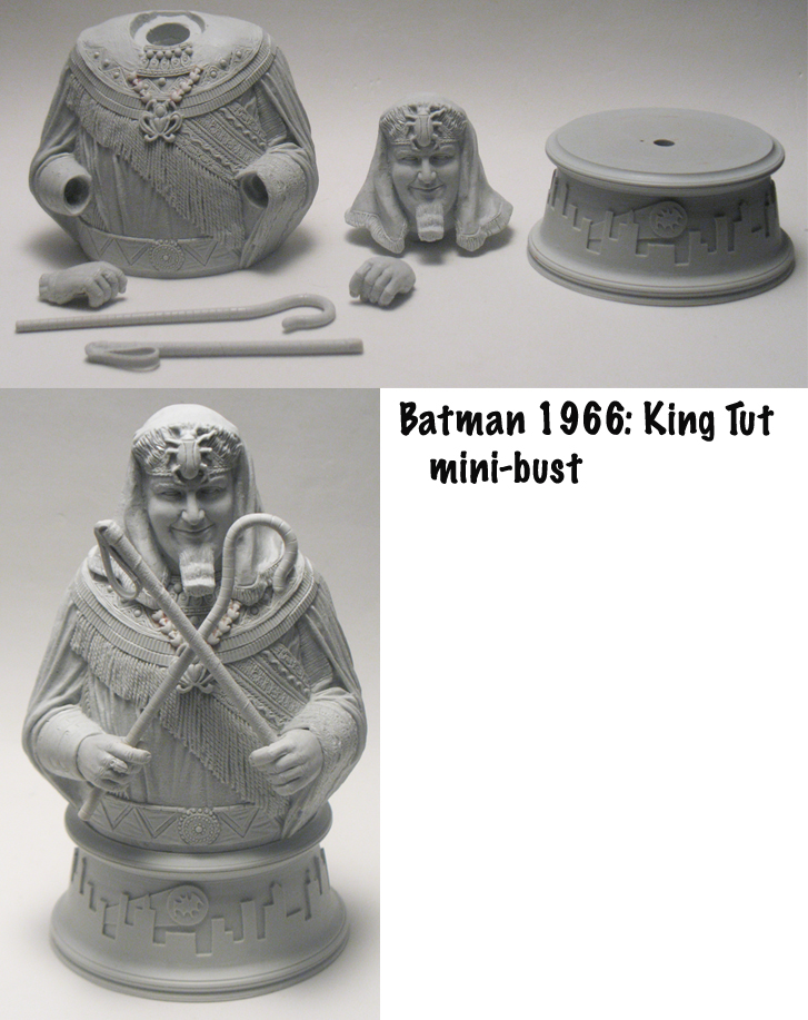 Batman '66 King Tut by BLACKPLAGUE1348