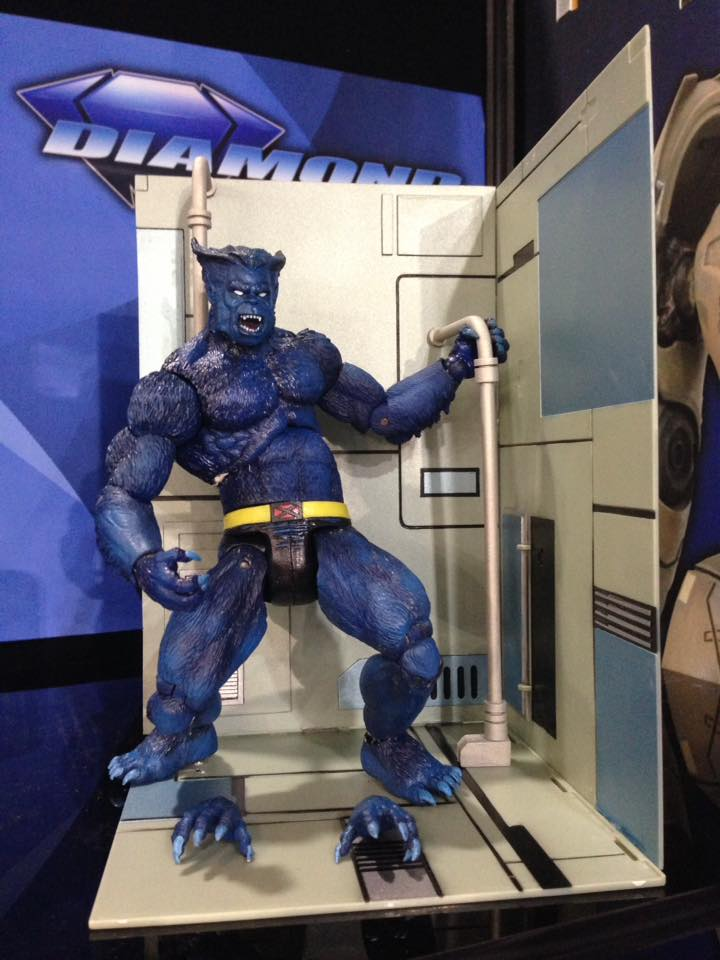 Marvel Select Beast Toy Fair reveal! by BLACKPLAGUE1348