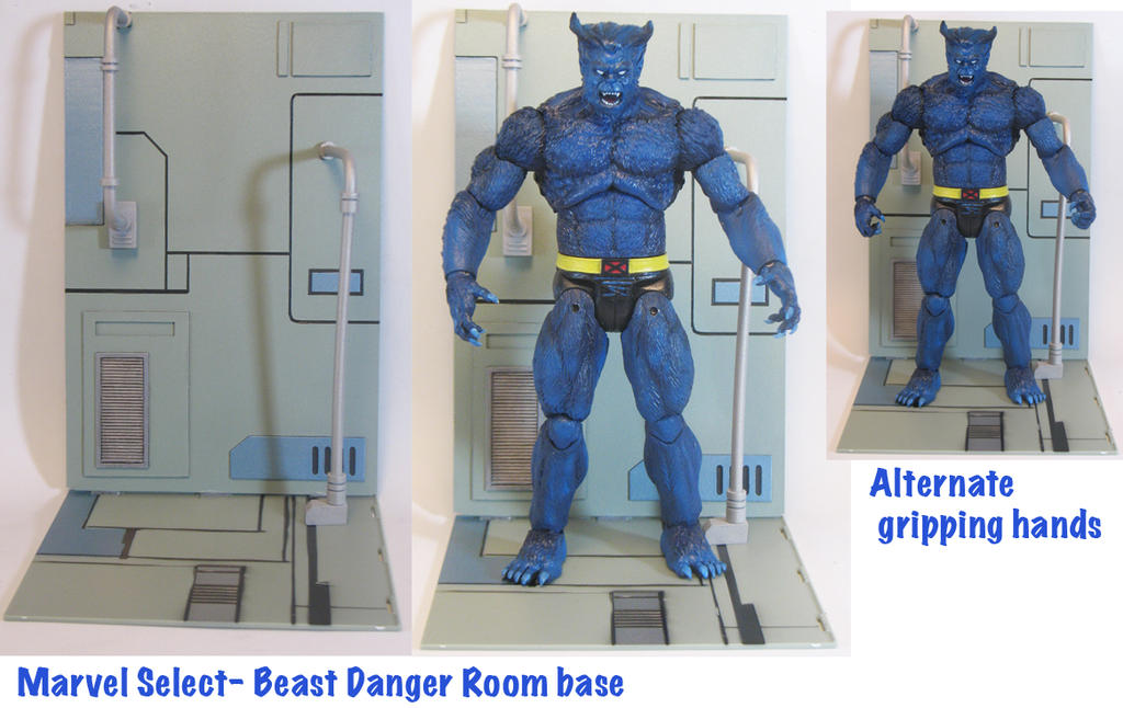 MS-Beast-Danger Room base by BLACKPLAGUE1348