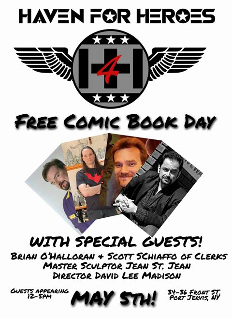 Free Comic Book Day Signing! by BLACKPLAGUE1348